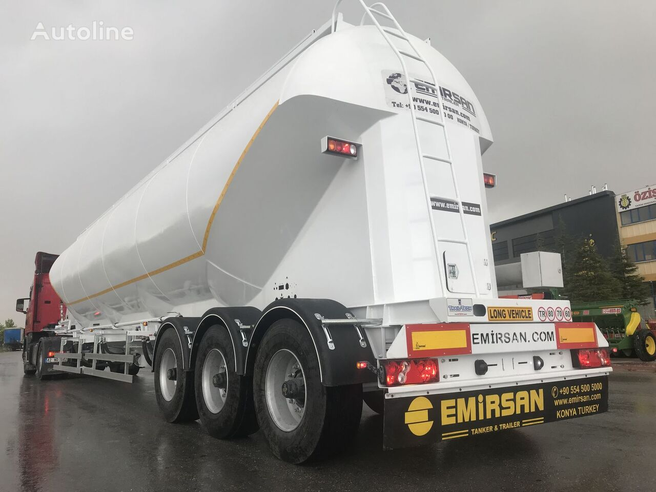 EMIRSAN W Type Bulker   Millennium Type   EURO Type 2021 cisterna silo nueva