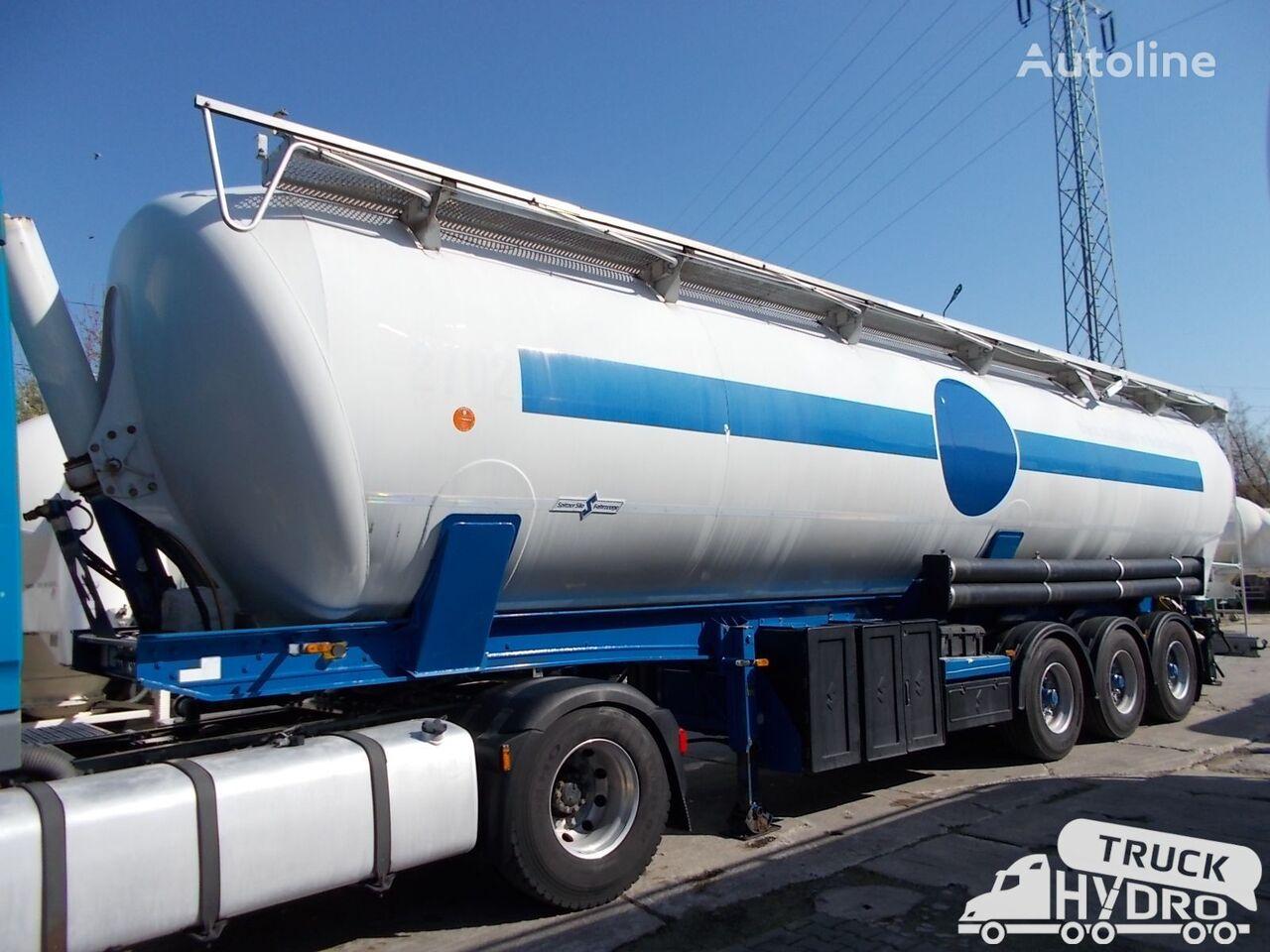 SPITZER SK2760CAL - Własna hydraulika HS24V cisterna silo