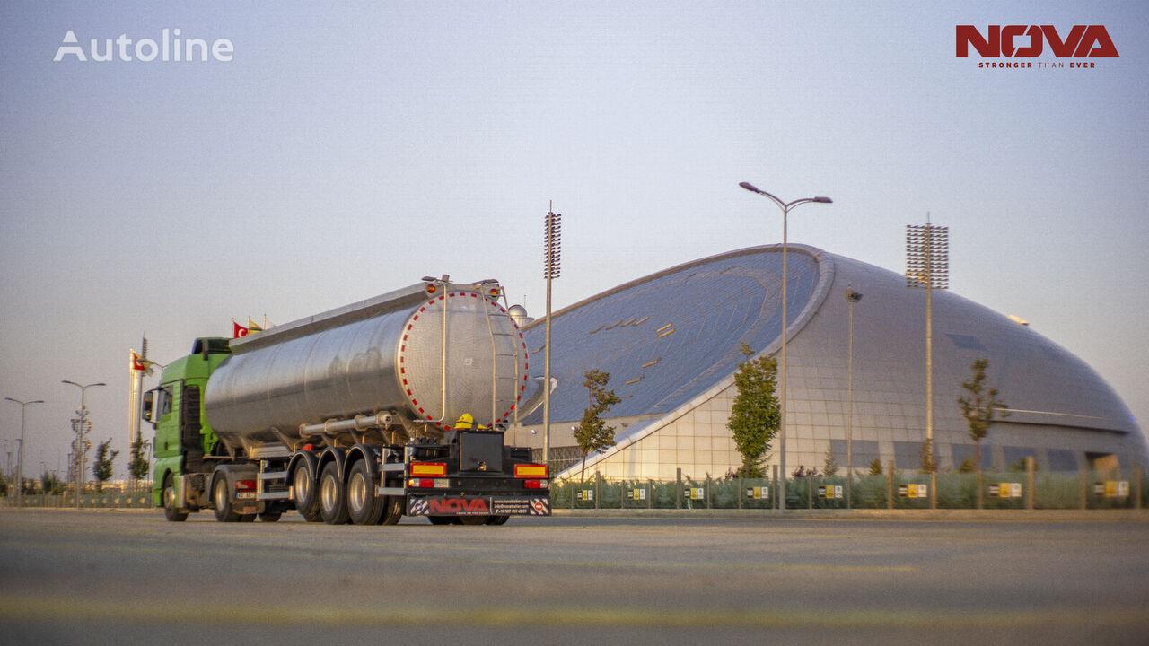 NOVA NEW STAINLESS STEEL TANKER TRAILER cisterna nueva