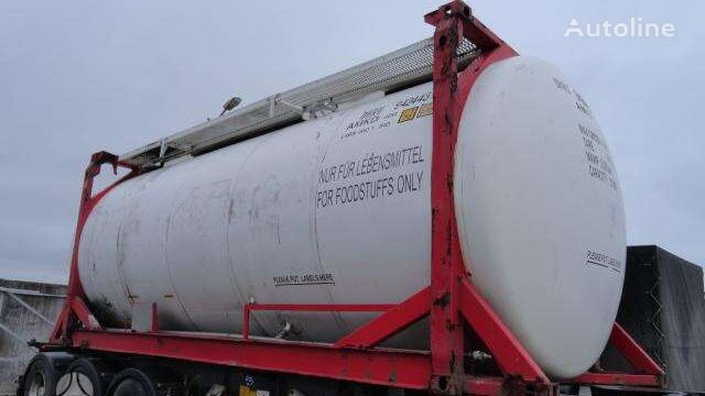 VAN HOOL NUOMA PARDAVIMAS, tanker contenedor cisterna 20 pies