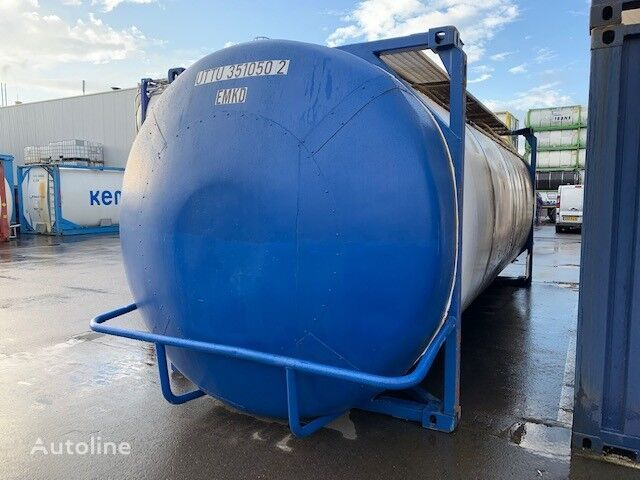 FFT 18-024 contenedor cisterna 30 pies
