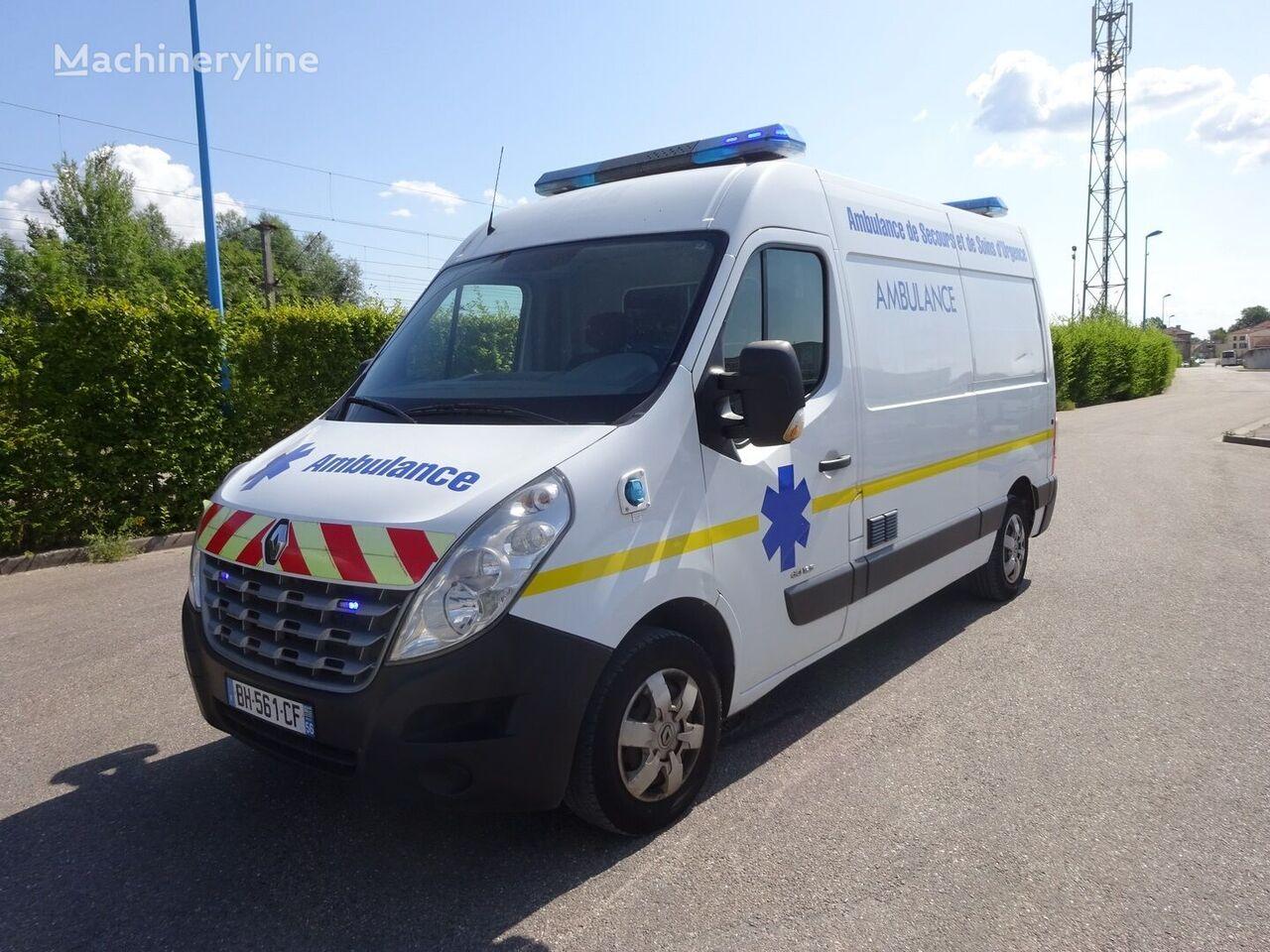 ambulancia RENAULT MASTER L2H2 2011