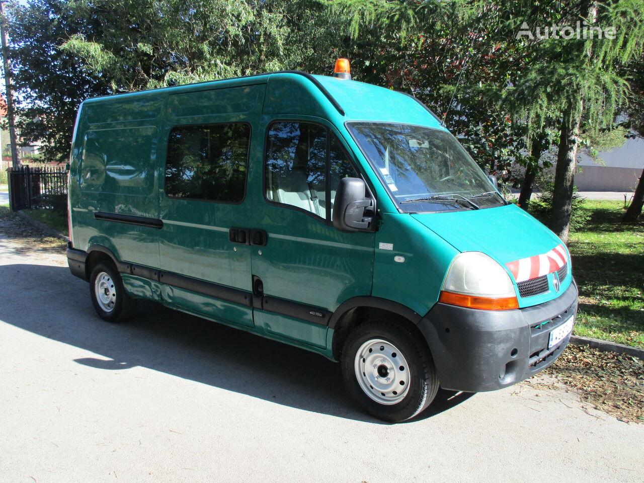 furgoneta combi RENAULT Master Brygadówka 7-osobowy Dubel 2.5dCi