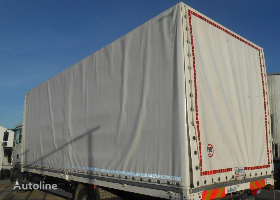 Inny Zabudowa Skrzynia SUWANY DACH 7,30 m carrocería con toldo