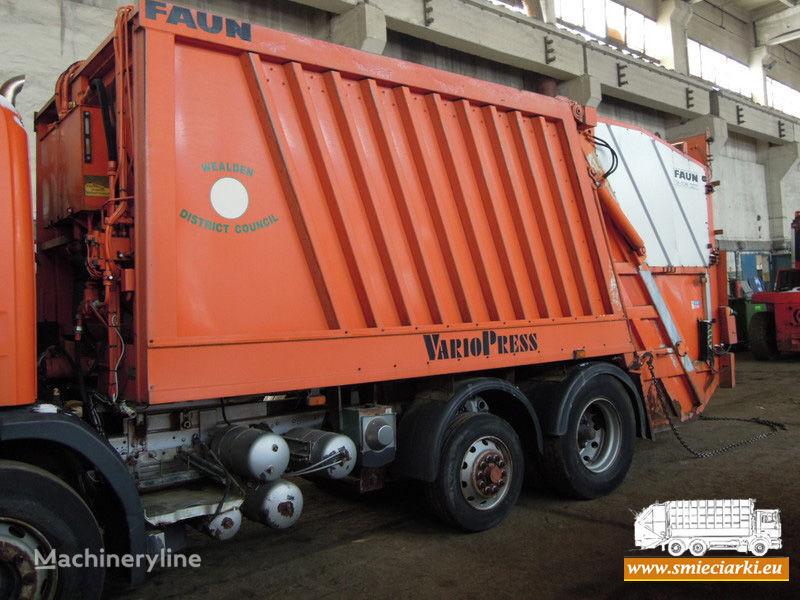 FAUN carrocería de camión de basura
