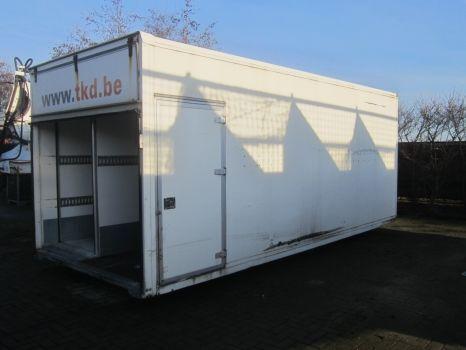 MAN ContainerD0143 carrocería furgón