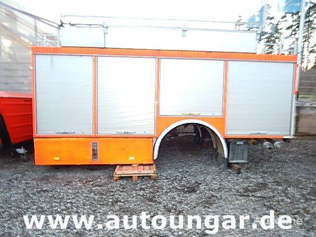MERCEDES-BENZ Schlingmann Feuerwehr Aufbau m Rosenbauer Pumpe 24/8 carrocería furgón