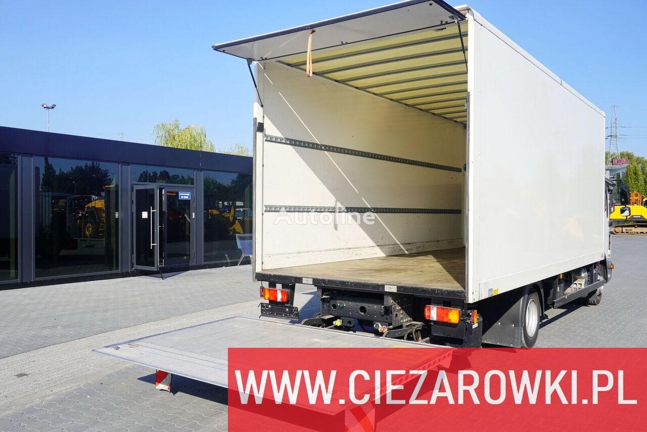 SAXAS Container body + lift Dhollandia 1.000 kg carrocería furgón