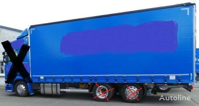 SCANIA NUR AUFBAU für Scania LB 4900 WB (Ohne Lkw!) carrocería intercambiable con toldo nueva