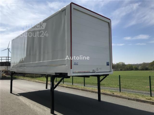 KRONE Wechselkoffer Alu. Rolltor carrocería intercambiable furgón