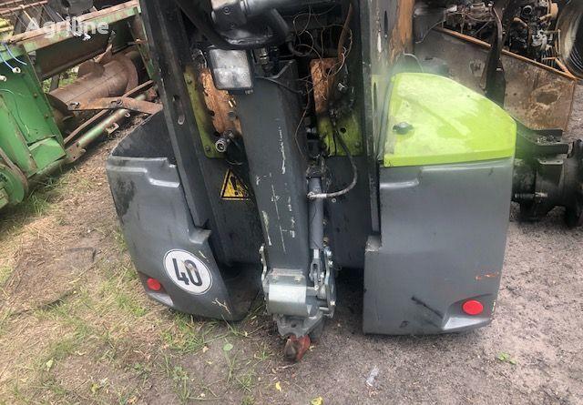 CLAAS Scorpion 7055 contrapeso de tractor