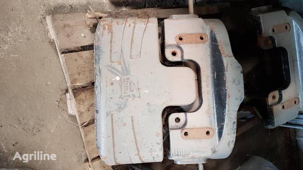 MASSEY FERGUSON Gewicht 6400 und 7400 Serie contrapeso de tractor