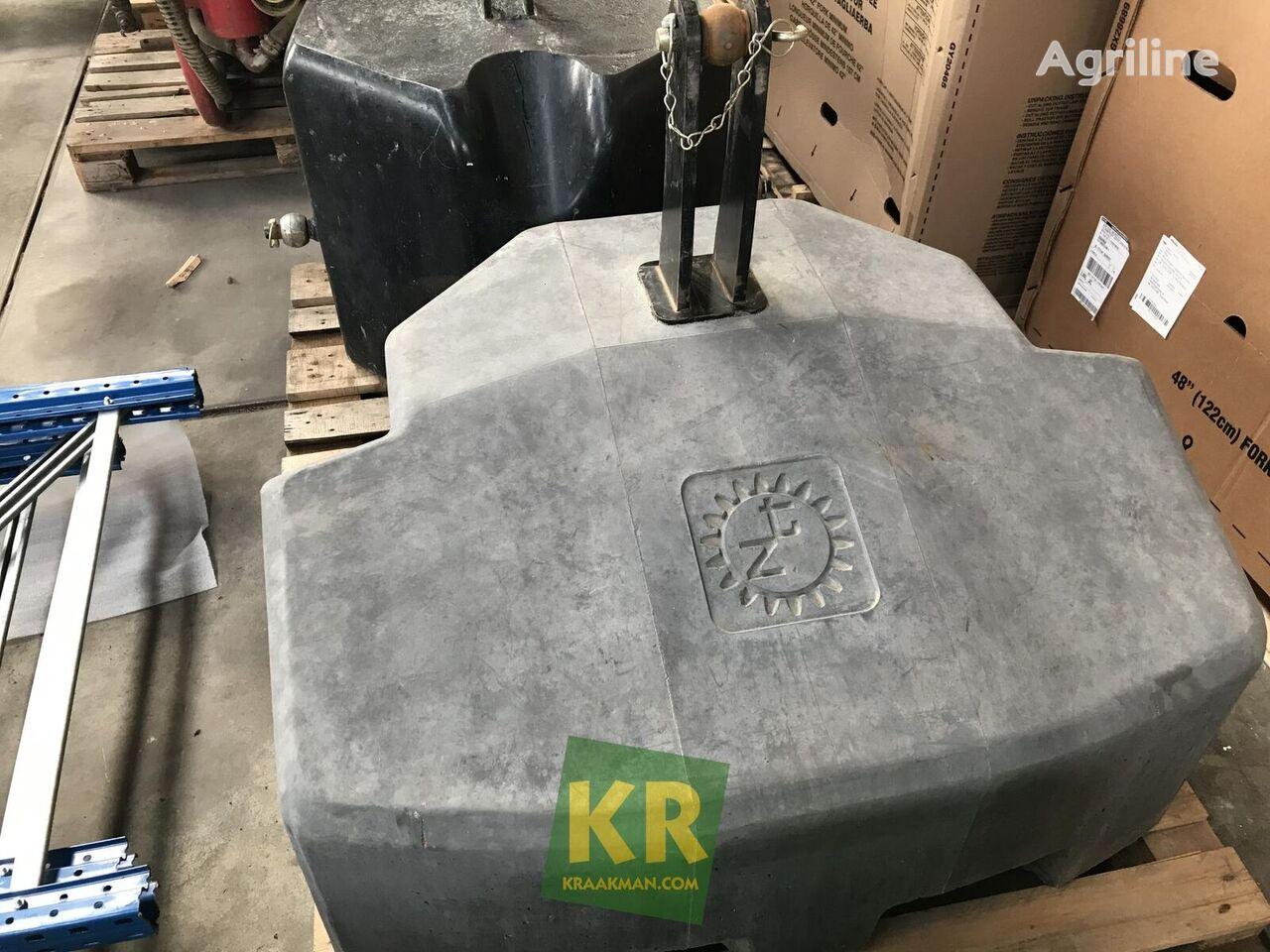 Zuidberg 800 kg contrapeso de tractor