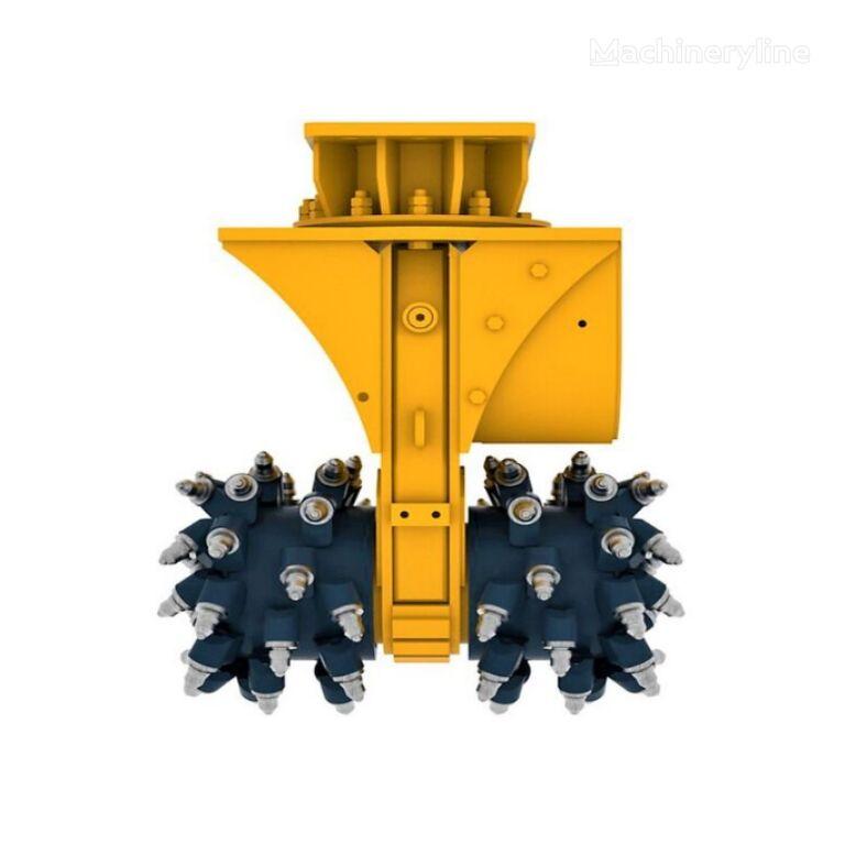Double Drum Cutter (MDC-30) for 22-35 ton Excavator cortador de tambor nuevo