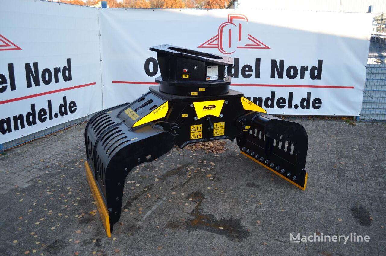 MB Crusher  G1200 cuchara de mordazas nueva