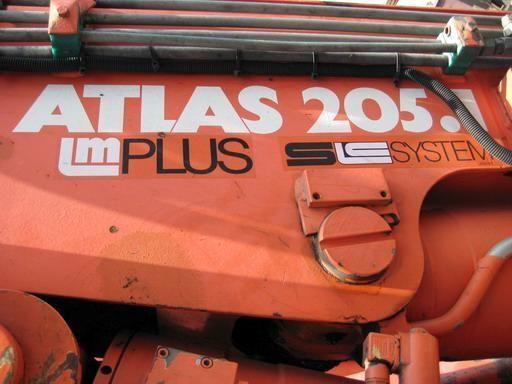 ATLAS 205.1 (Geramaniya) grúa autocargante