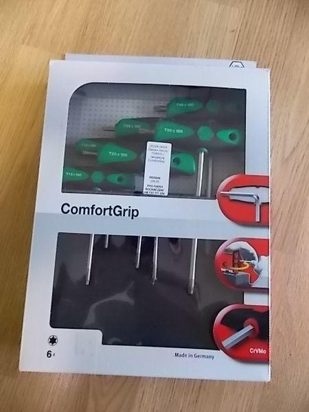 Zestaw kluczy TORX z rękojeścią ComfortGrip. herramienta para el servicio del vehículo