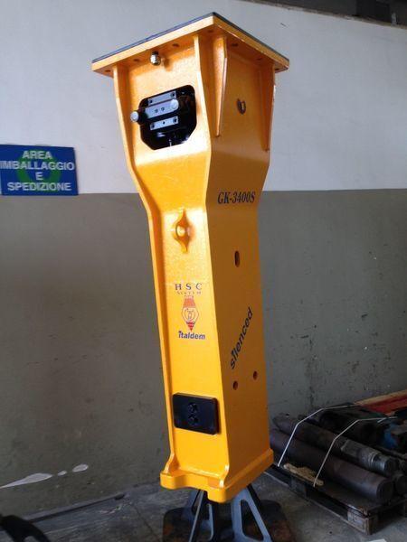 ITALDEM GK 3400S martillo hidráulico nuevo
