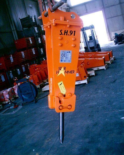 STAR Hammer SH 91 martillo hidráulico nuevo