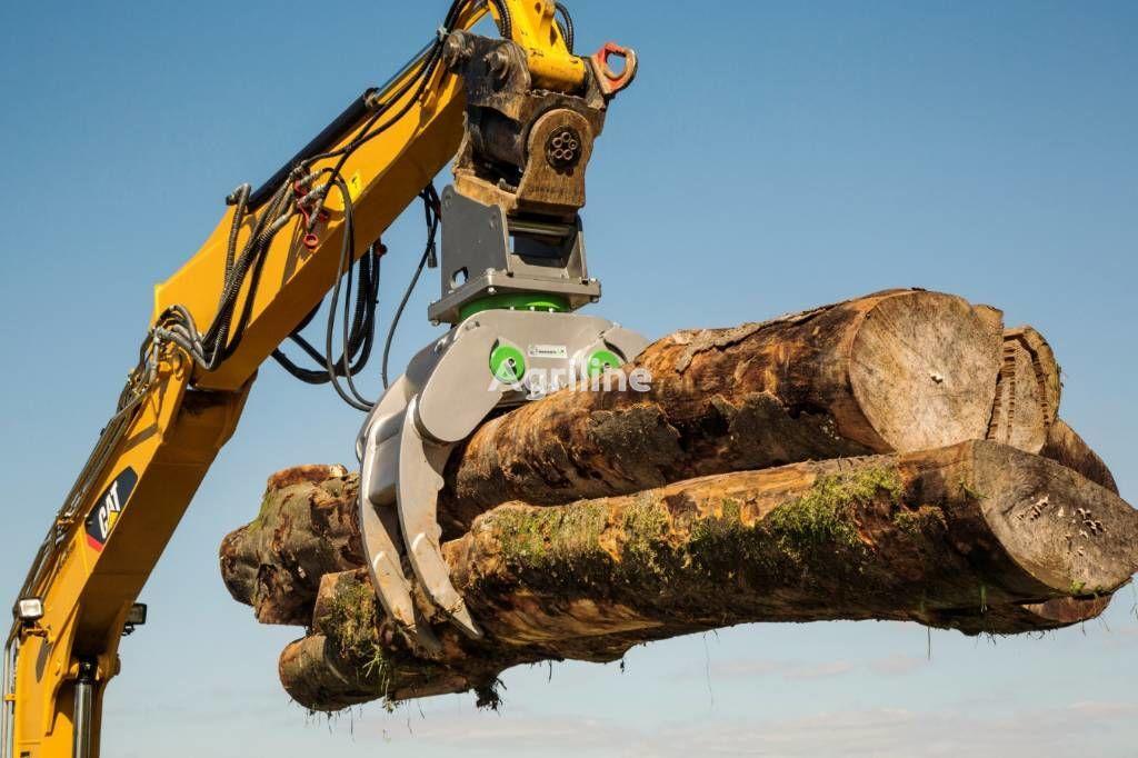 pinza para troncos ALLIGATOR UNIVERSAL / ABBRUCH / HOLZ / SORTIER GREIFER nuevo