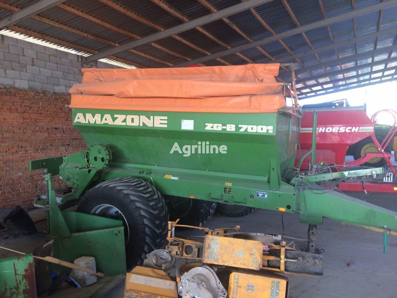 AMAZONE ZG-B 7001 abonadora arrastrada