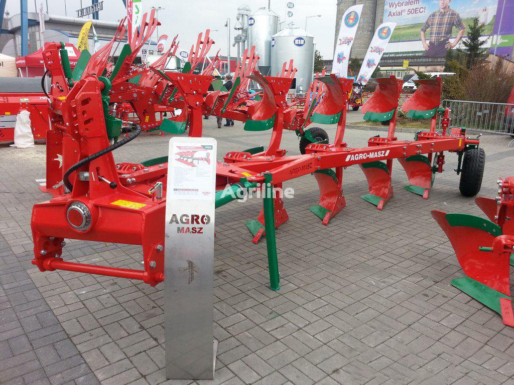 AGRO-MASZ Plug oborotniy 4+1 (35*40*45*50 sm) Rama 140h140 Garantiya 3 ROKI arado reversible nuevo