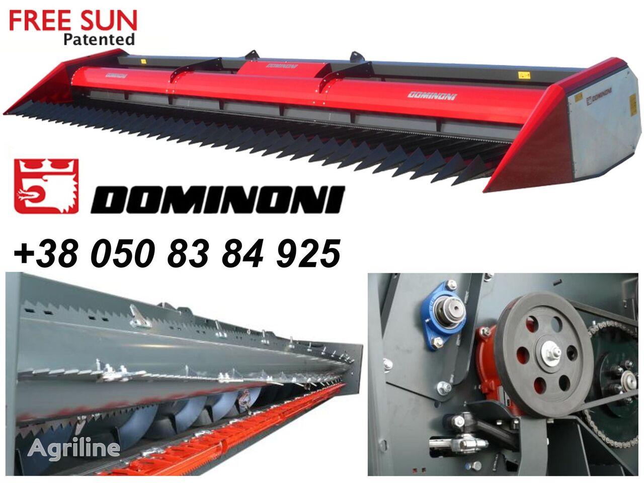 Dominoni Free sun GF620 cabezal de girasol nuevo