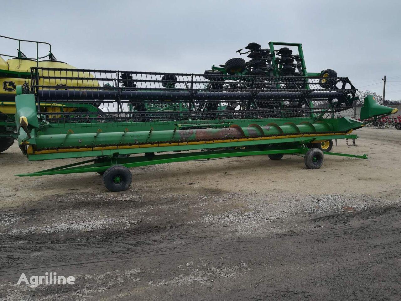 JOHN DEERE 930 Flex 9m s telezhkoy №308 cabezal de grano