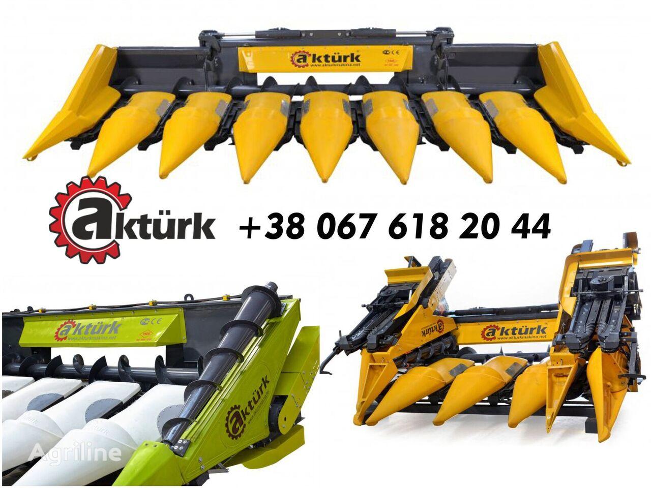 NEW HOLLAND Zhatka kukuruznaya Akturk Aktyurk, Akturk  cabezal de maíz nuevo