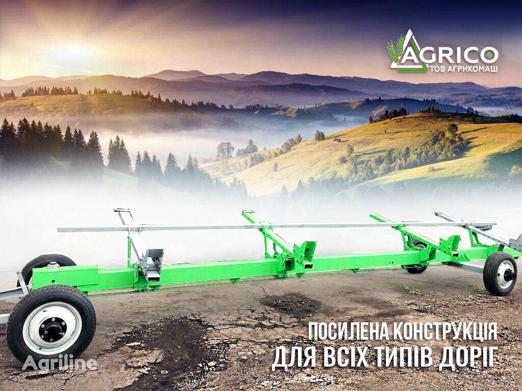 AGRISO telezhka VTZh ot 6 do 10 m carro portapeine nuevo