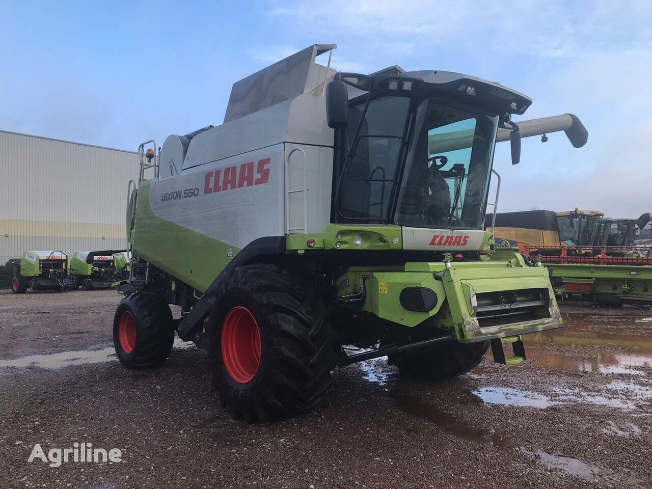 CLAAS Lexion 550 (z Evropi) cosechadora de cereales