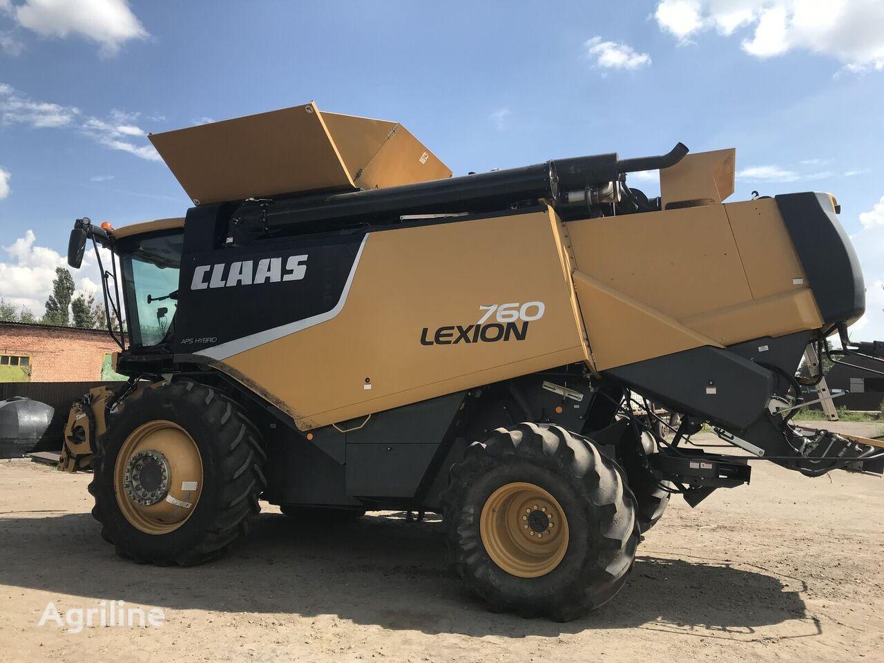 CLAAS Lexion 760 cosechadora de cereales