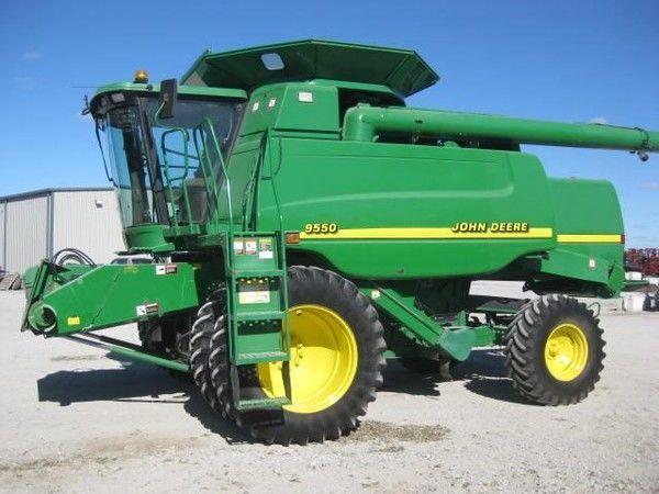 JOHN DEERE  9550 cosechadora de cereales