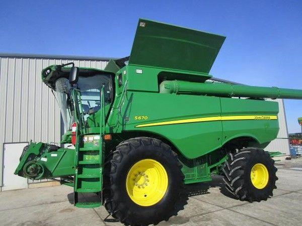 JOHN DEERE S680 cosechadora de cereales