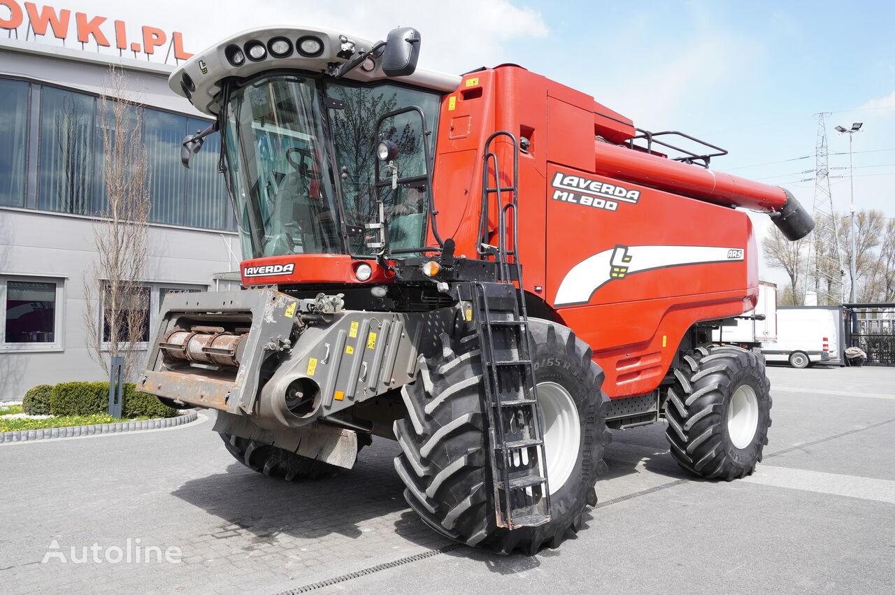 AGCO LAVERDA ML800 ARS , 1400 MTH  , rotor , tank 12.500kg , GPS , jo cosechadora de cereales