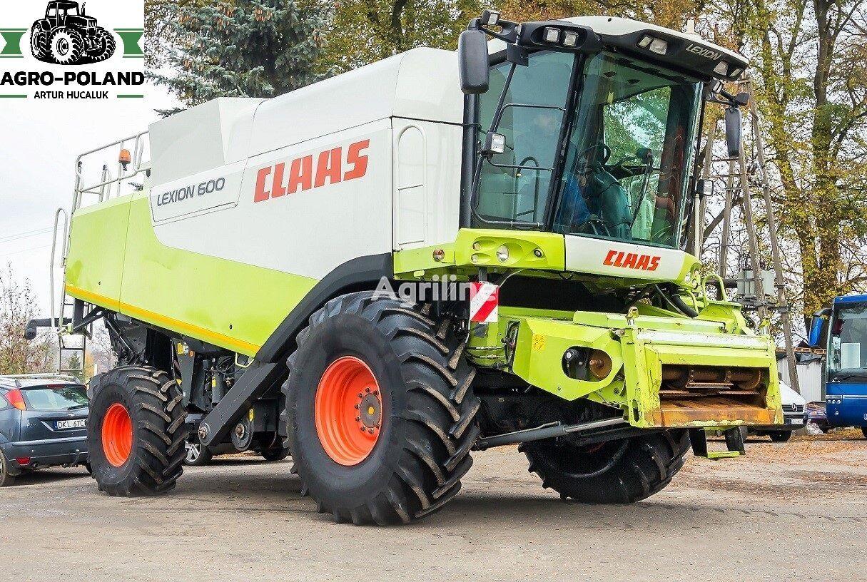 CLAAS LEXION 600 - VARIO 900 - MERCEDES cosechadora de cereales