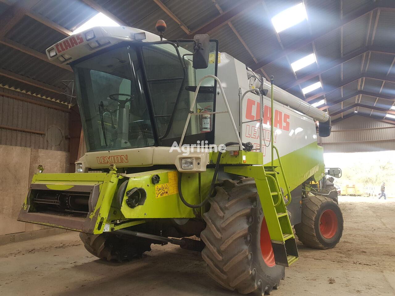CLAAS Lexion 460 cosechadora de cereales