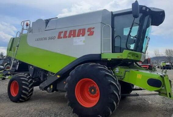 CLAAS Lexion 560 (mozhliviy lizing) cosechadora de cereales