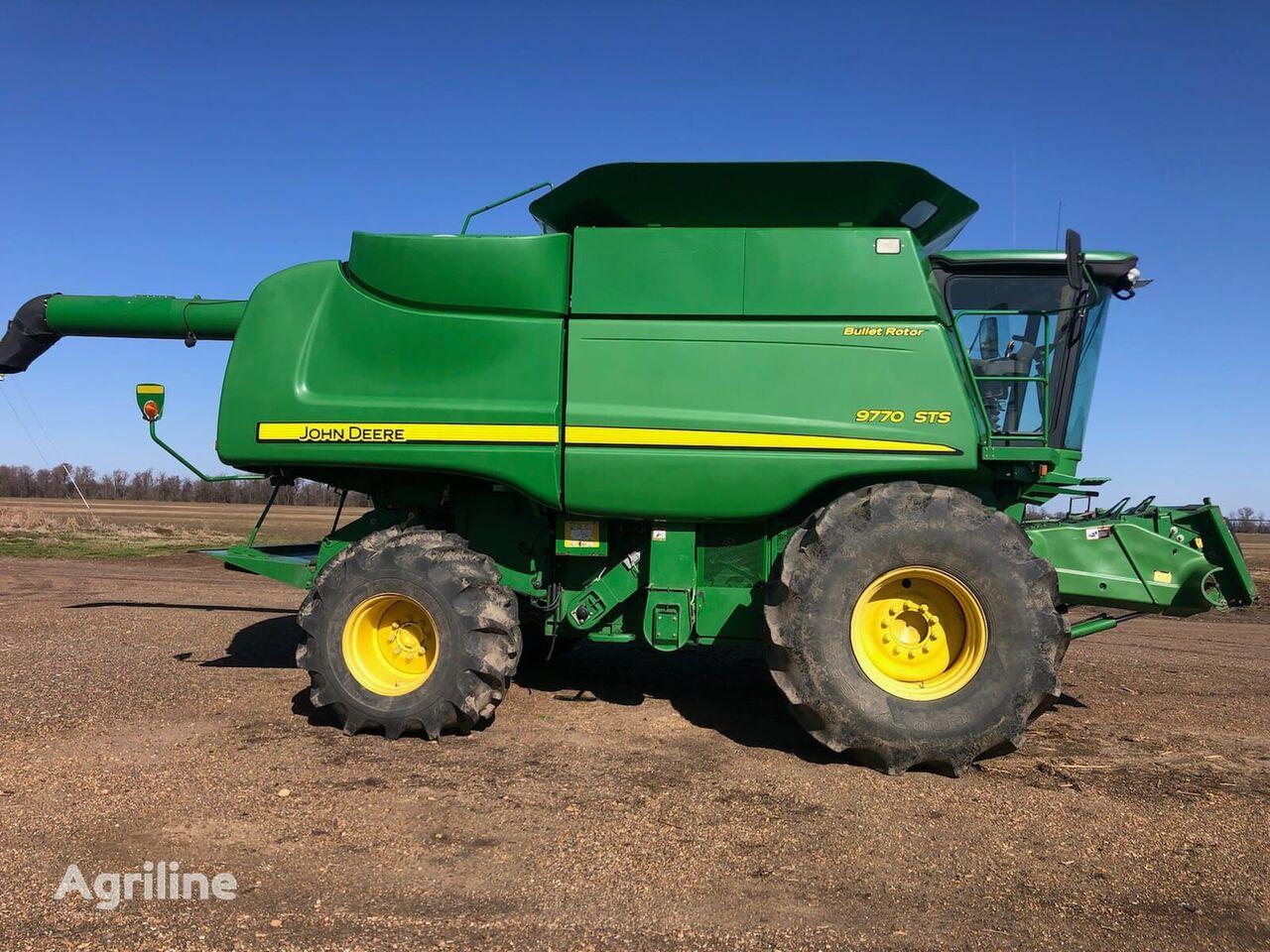 JOHN DEERE 9770 STS cosechadora de cereales