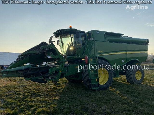JOHN DEERE S670 №80 cosechadora de cereales