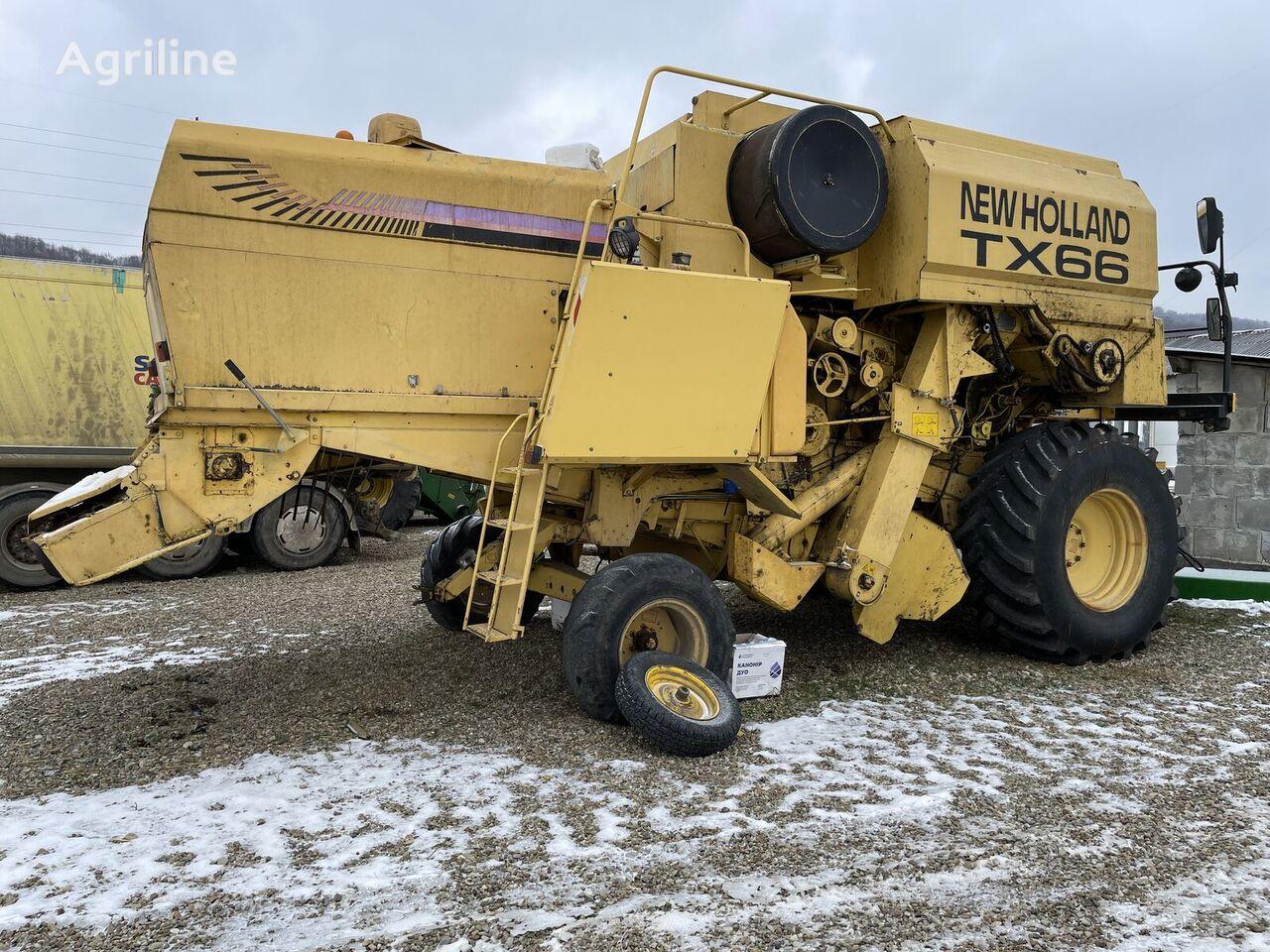 NEW HOLLAND TX 66 cosechadora de cereales