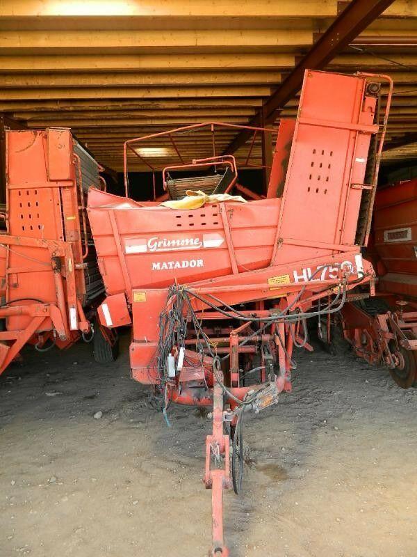 GRIMME HL 750 cosechadora de patatas
