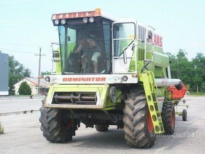 CLAAS Dominator 108 SL  cosechadora