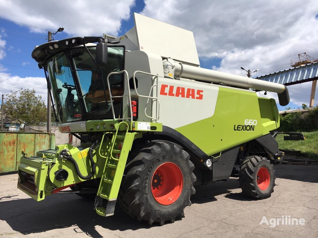 CLAAS Lexion 660 z Nimechchini  cosechadora