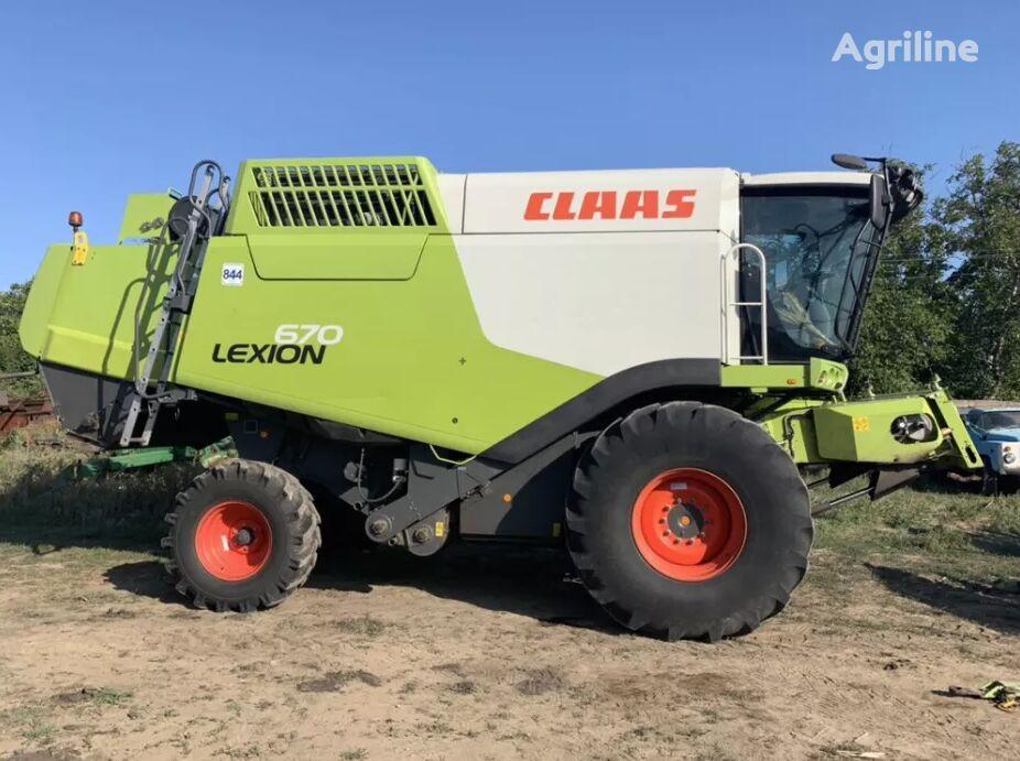 CLAAS Lexion 670 cosechadora