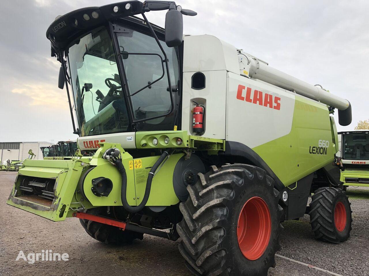 CLAAS Lexion 670 z Nimechchini. PDV cosechadora