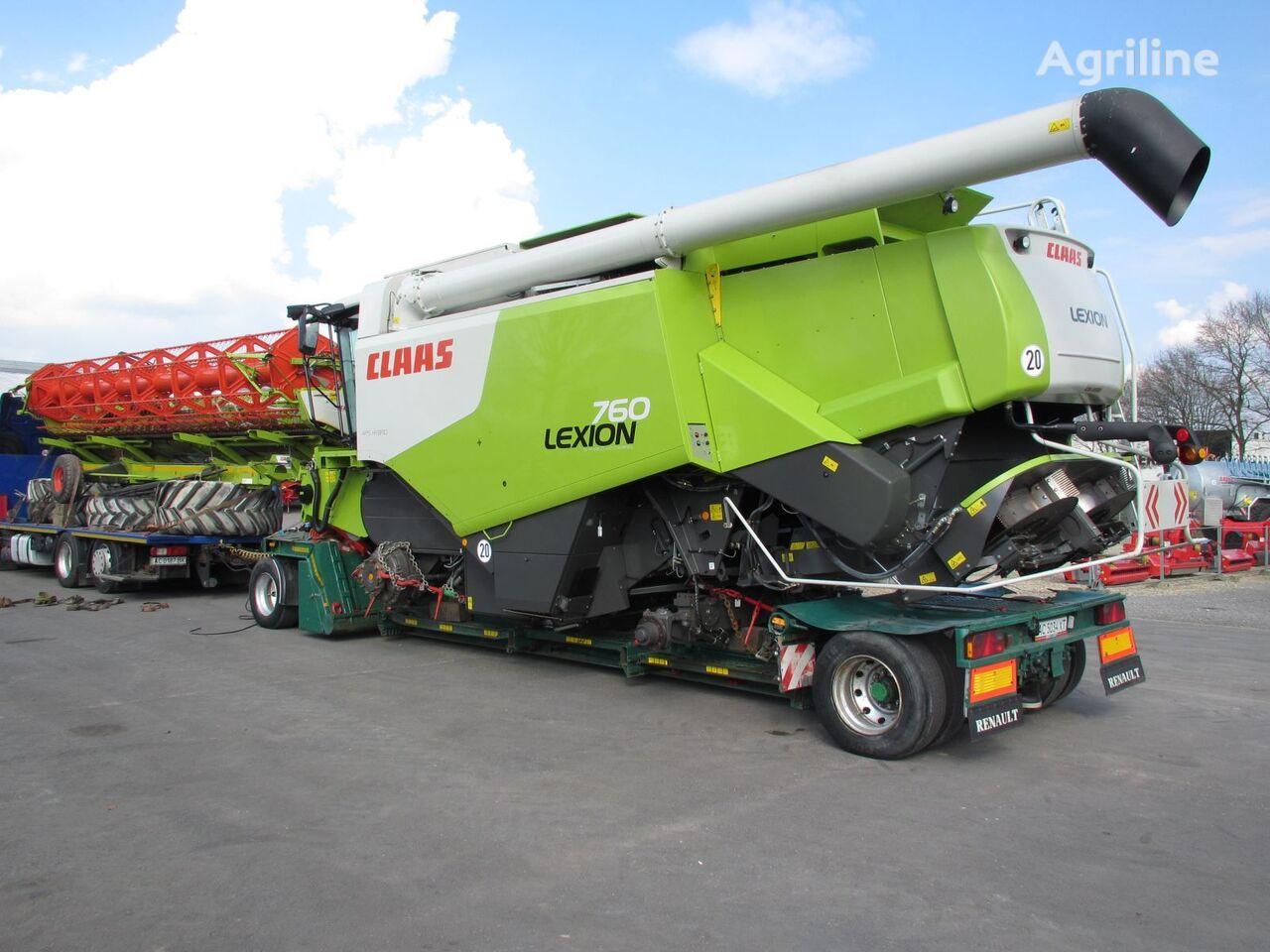 CLAAS Lexion 760 cosechadora