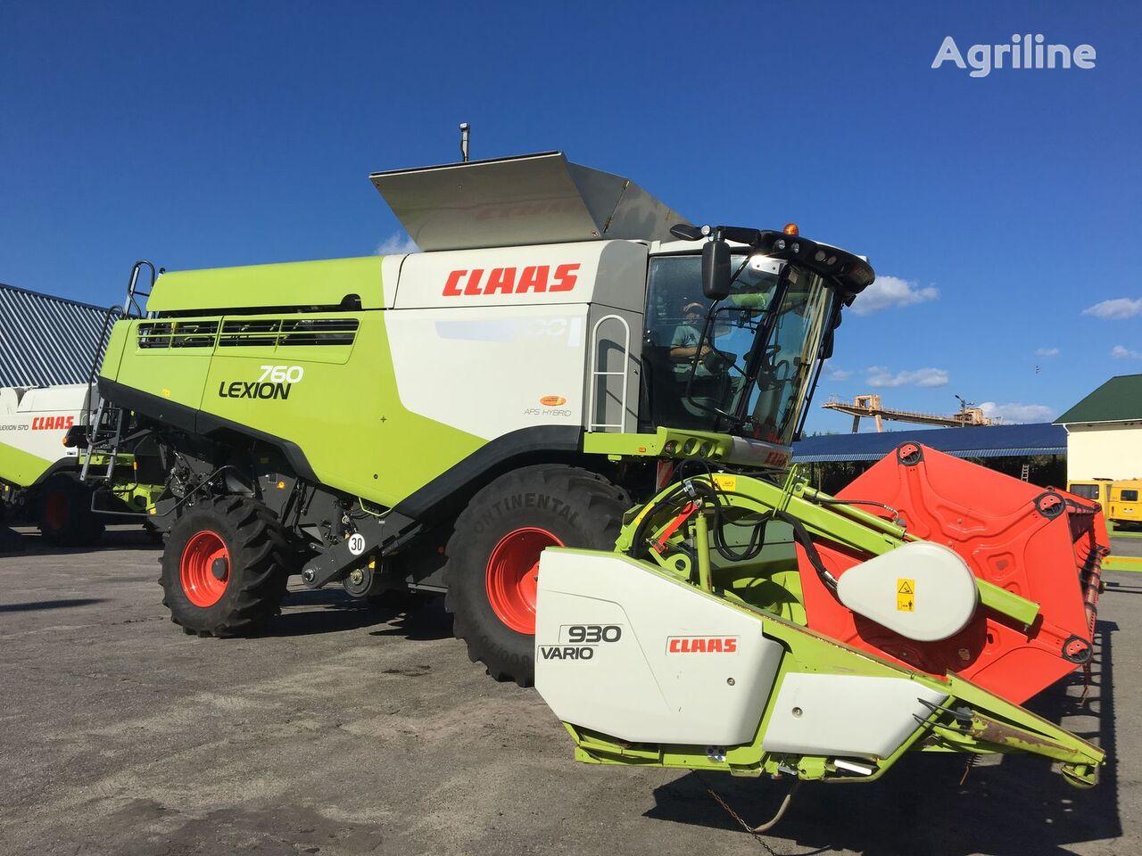 CLAAS Lexion 760 Z NIMEChChINI cosechadora