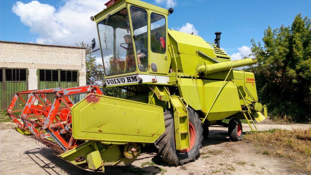 CLAAS MERCATOR 60 cosechadora