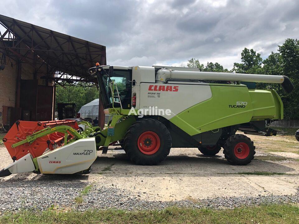 CLAAS Tucano 570 cosechadora